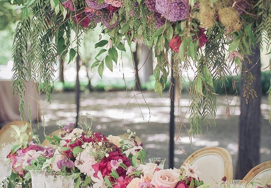 ambientazione floreale